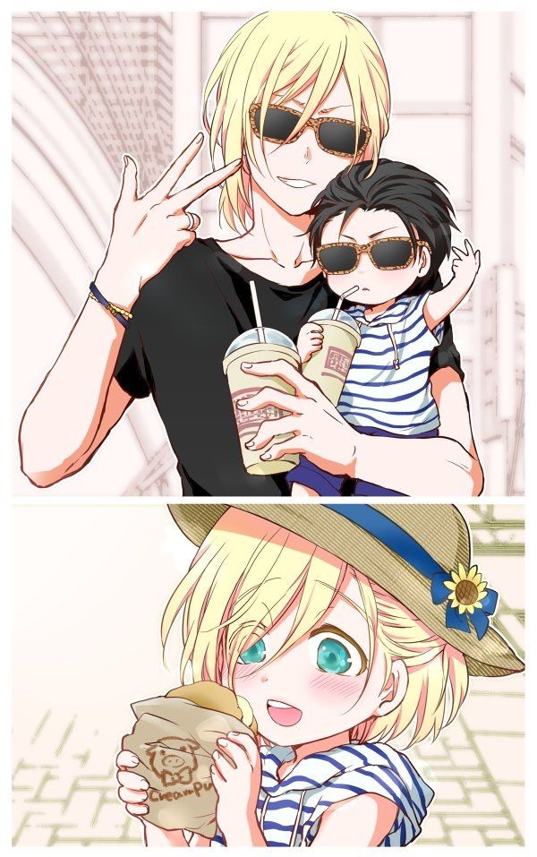 That Is Too Much For Me To Handle I Ll Pretend They Re Their Cousins Yuri On Ice Comic Yuri On Ice Yurio And Otabek