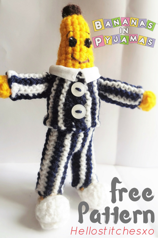 Bananas in pajamas amigurumi – Free pattern | Crochet I Like ...