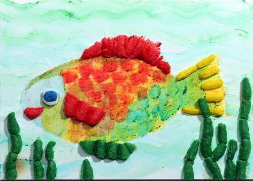 Modell Fisch Von Fischer Tip Basteln Fische Gestalten
