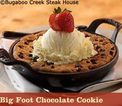 Bugaboo Creek Steakhouse... this is honestly the best thing in the entire world.