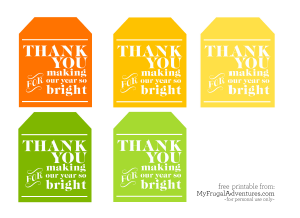 Teacher Appreciation Gift Idea | Free printable labels, Printable ...