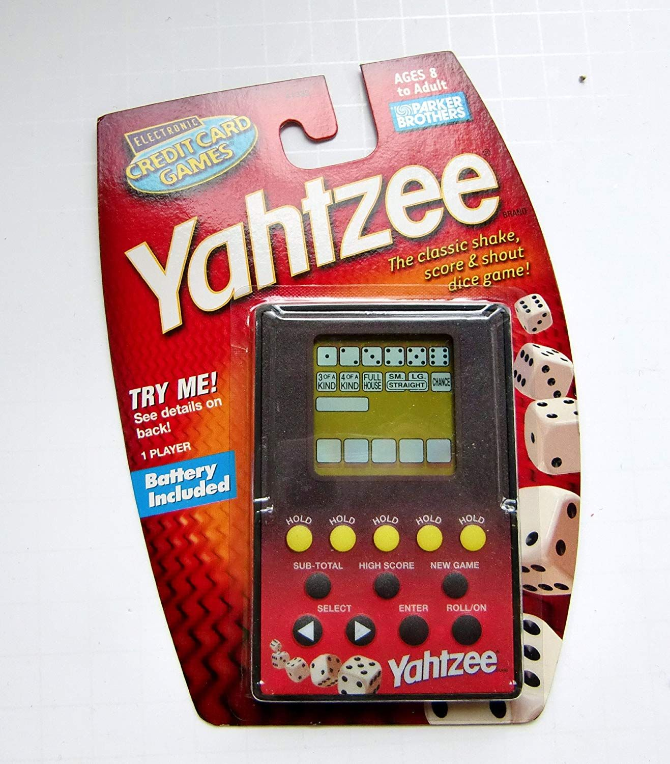 Yahtzee Credit Card Game * Continue to the product at the