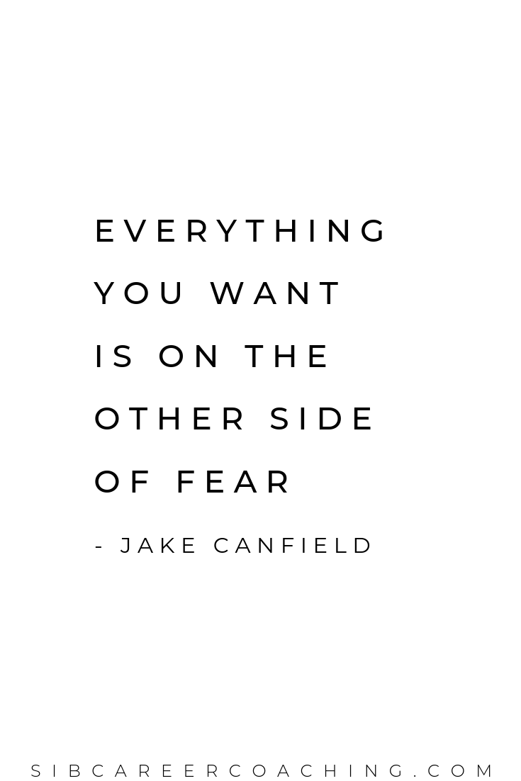 Overcoming Fear Quote