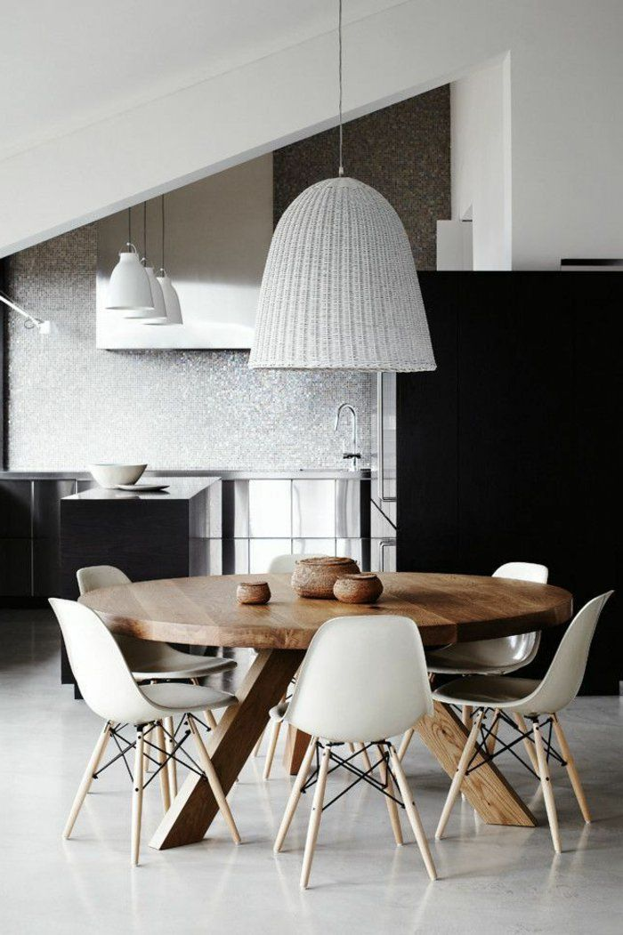 Voici La Salle Manger Contemporaine En 62 Photos Furniture Kitchen And Chairs