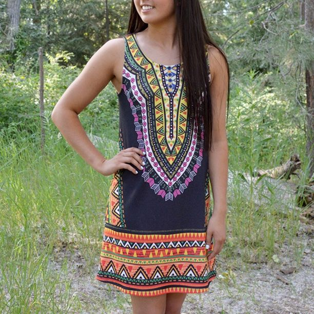 A Twist of Aztec is such a great piece to add to your closet! Perfect for those first few months of walking to class or spending your weekends in before Fall arrives! Only - $34.99