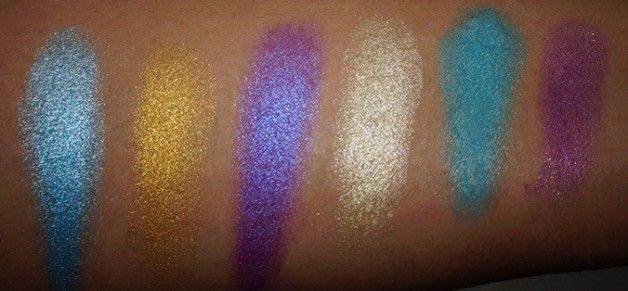 MUA Poptastic Eyeshadow Palette Swatches, Review, EOTD