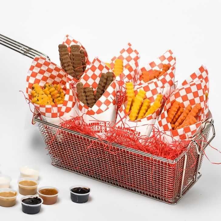 Deep fryer cookie gift basket gourmet food gift basket