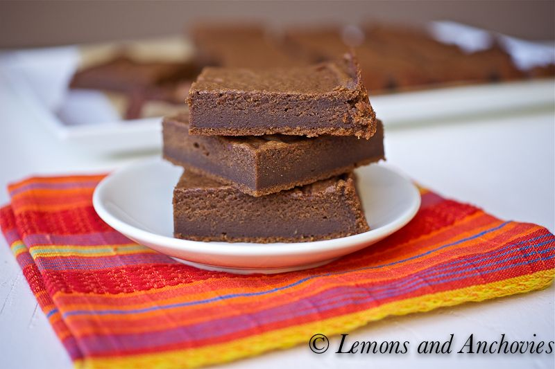 pumpkin chocolate brownies...lost this recipe and now i found it again!  delish.