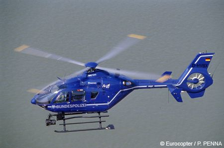 Japanese EC-135-police helicopter
