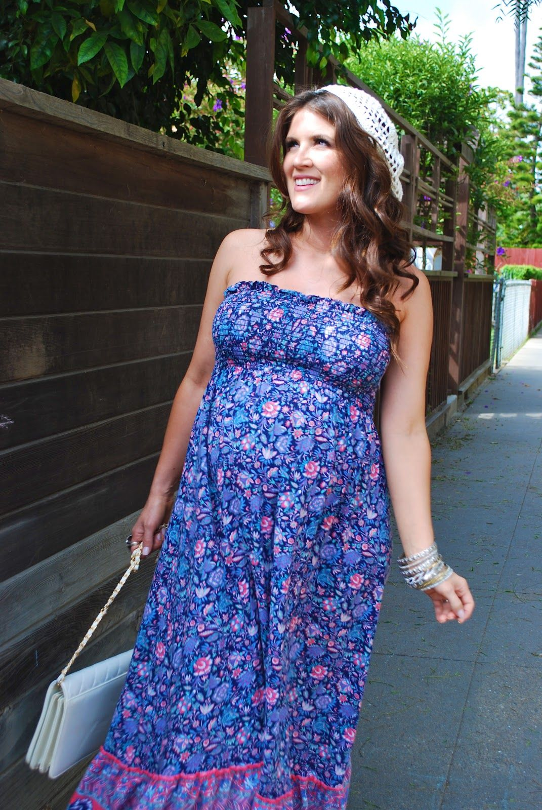5da700dec4f I never looked this cute when I was pregnant! Boho Summer Dress ...