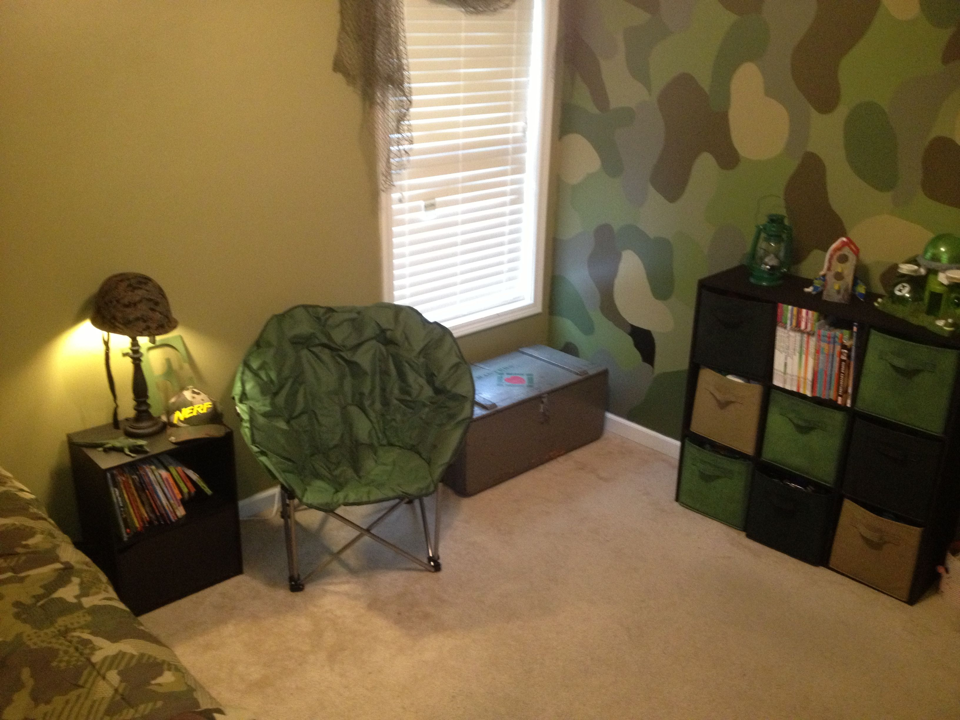 Boys bedroom makeover  For the Home in 2019  Camo