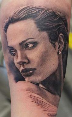 Impressive Ink Realism Tattoo 3d Tattoo Portrait Tattoo