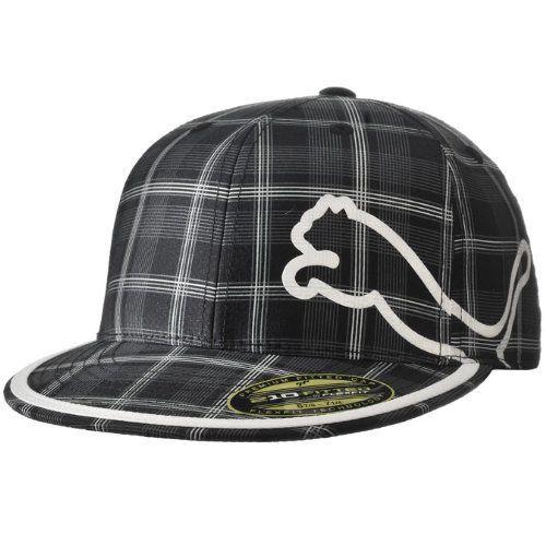 302aa7adfc0 Puma Men s Monoline 210 Cap -Black Plaid Flexfit.  30.00. 98% Polyester