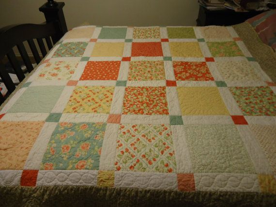 Strawberry Fields Layer Cake Quilt Pattern | quilting | Pinterest