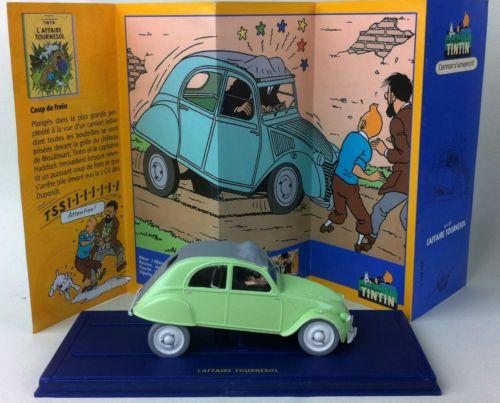 Voiture Tintin Car Atlas N 176 6 La 2cv De L Affaire Tournesol