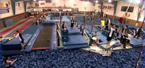 Went To International Gymnastics Camp For A Couple Summers Awesome Gym They Have Olympians There Wh International Gymnastics Camp Gymnastics Camp Gymnastics