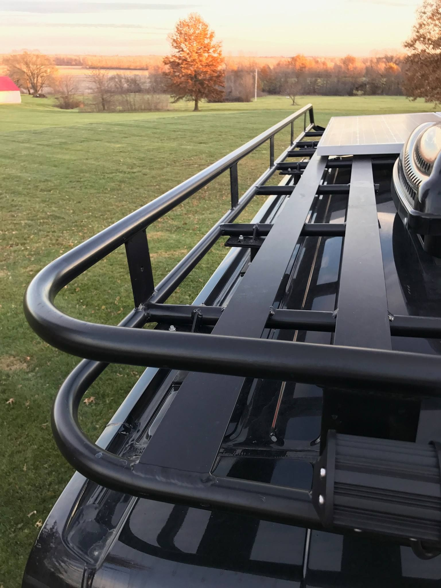 Vandoit Offers Several Different Kinds Of Roof Racks Including Aluminess Thule And Smitty Built Defender Ford Transit Camper Chevy Astro Van Transit Camper