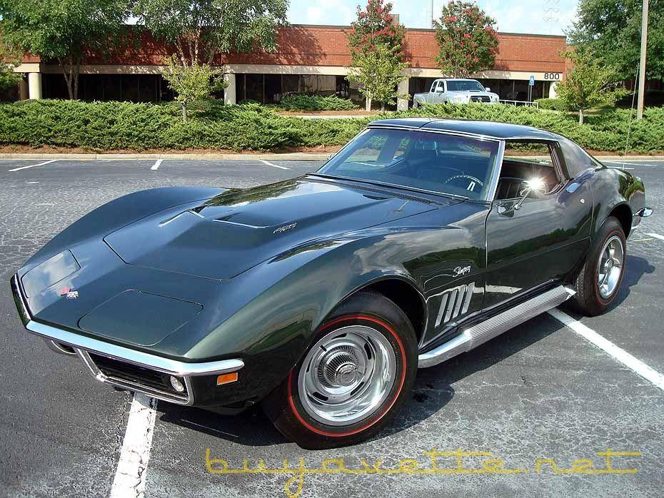 1969 Corvette 427 390hp For Sale 1969 Corvette Corvette Chevrolet Corvette