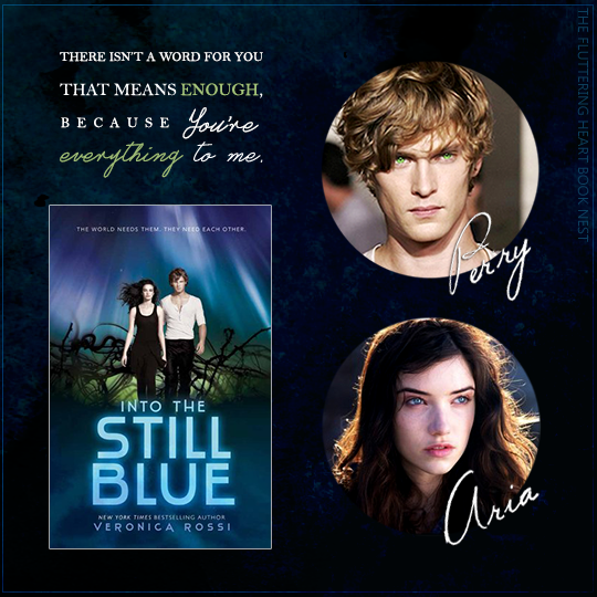 INTO THE STILL BLUE by Veronica Rossi + fancasts