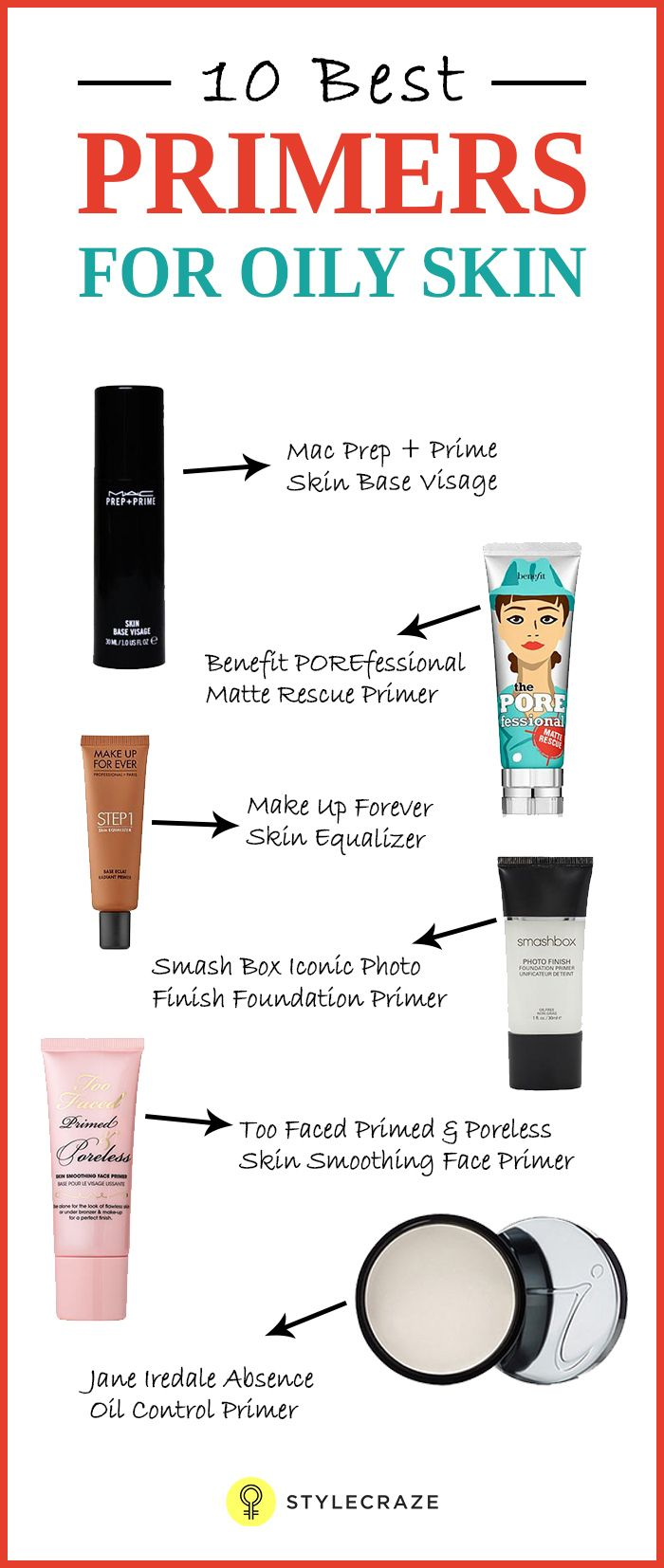 10 Best Primers For Oily Skin | Beauty Tips | Makeup tips ...