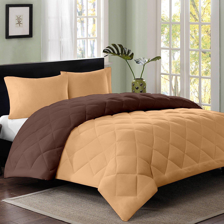 Reversible Ac Single Bed Comforter Blanket Quilt Duvet For Winters Light Brown Dark Brown By Cl Luxury Bedroom Decor Luxurious Bedrooms Adjustable Bed Frame