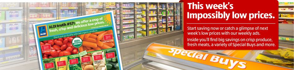 ALDI US Our Weekly Ads Grocery ads, Weekly ads, Aldi