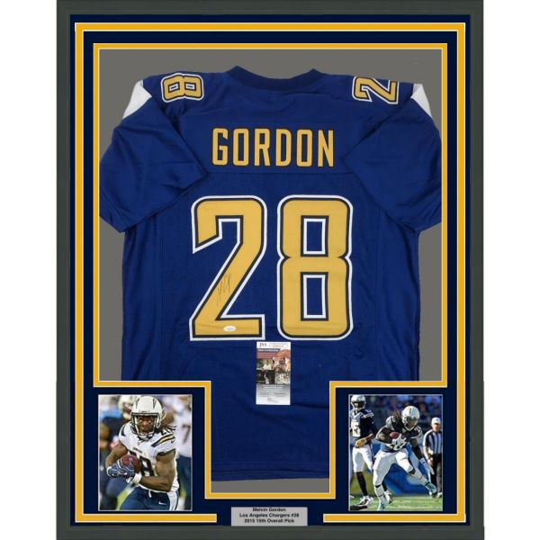 Nfl Framed Jerseys Hall Of Fame Sports Memorabilia Framed Jersey Color Rush Los Angeles Chargers