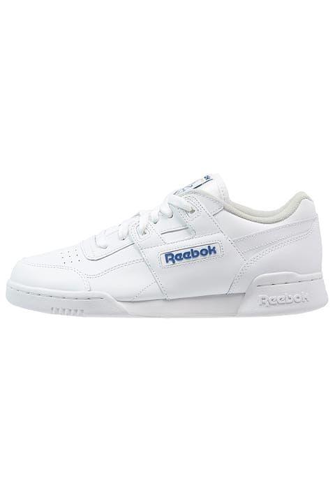 6d2f534197668 Reebok Classic WORKOUT PLUS - Baskets basses - white royal - ZALANDO ...