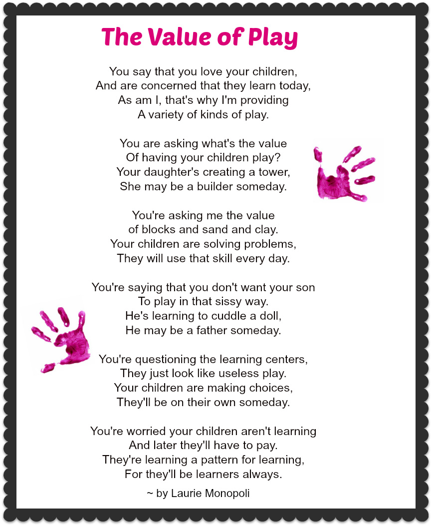 Value Of A Mother Quotes: The Value Of Play: A Special Poem That Highlights The