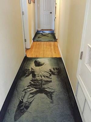 Solo In Carbonite Rugs