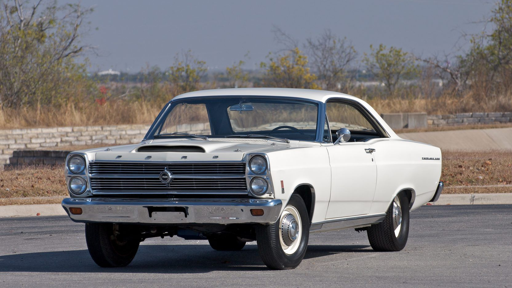 1966 Ford Fairlane 500 presented as Lot S129 at