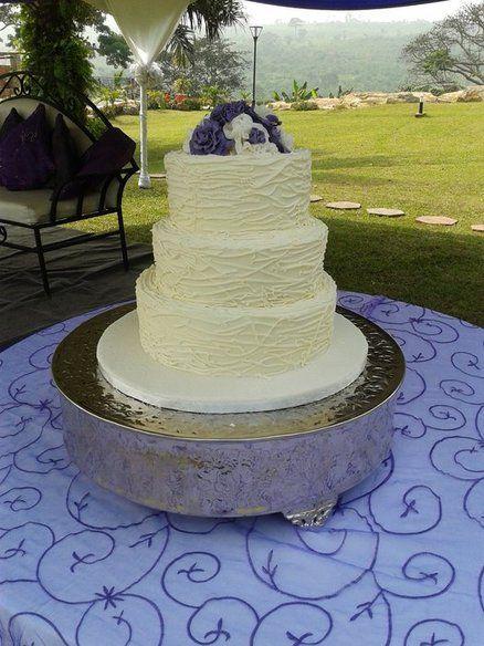 Rustic wedding cake  Cake by Pona