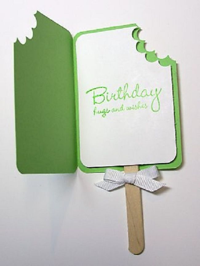 Making Birthday Cards Homemade Birthday Card Ideas Part - 35: 32 Handmade Birthday Card Ideas For The Closest People Around You