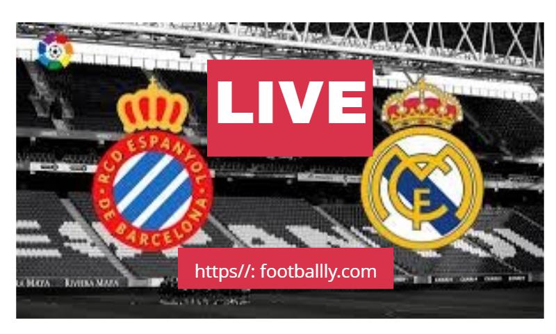 Espanyol Vs Real Madrid Live Football Match Real Madrid La Liga Spanish La Liga