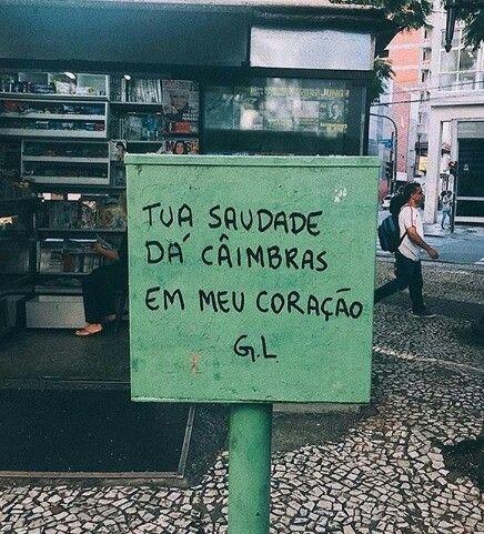 Ohhhh Saudades!!! 😍😍