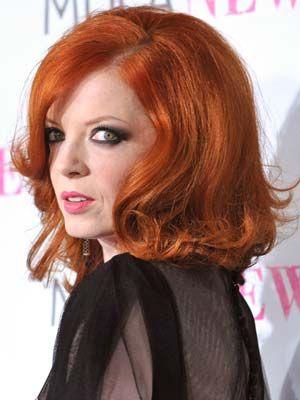 Shirley Manson Shirley Manson Cool Hairstyles Redheads