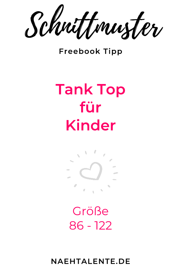 Freebook kinder schnittmuster top tank eBay Deutschland