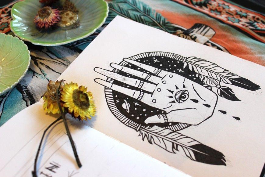 Sketchbook: Remain untamed