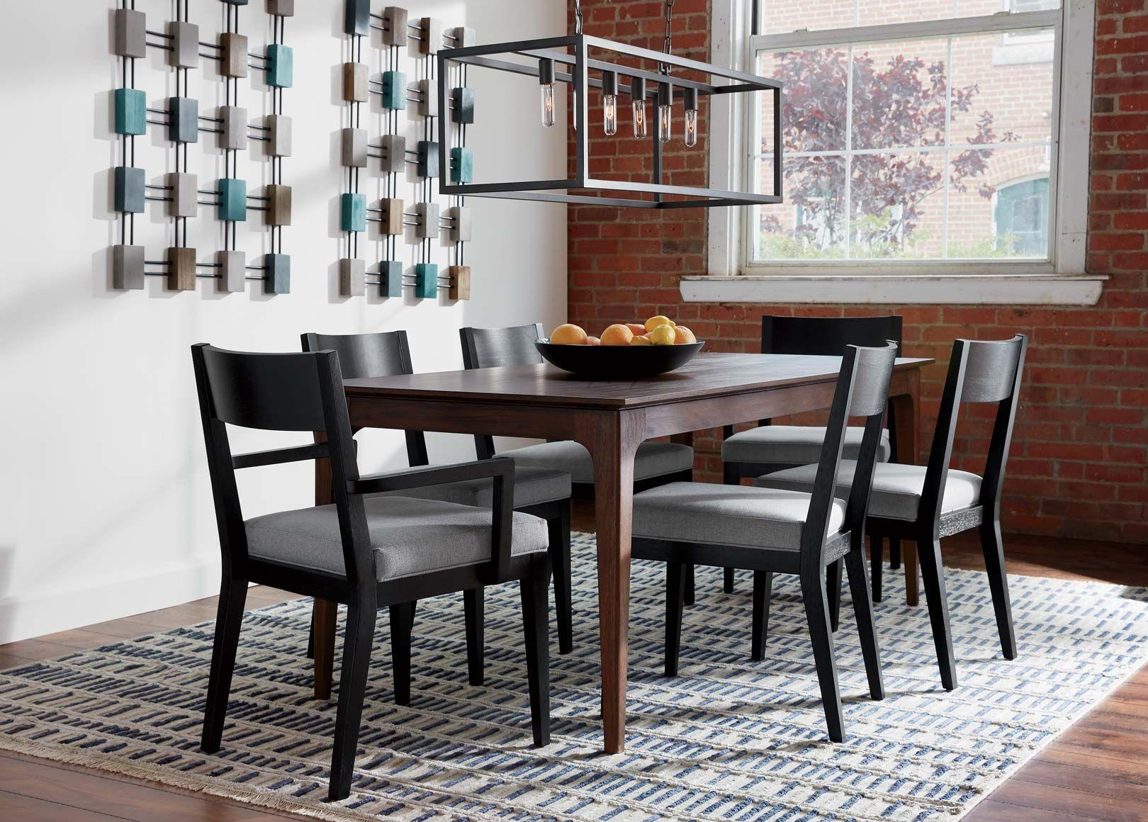 Blue-Gray Dining Room Inspiration | Ethan Allen Design ...