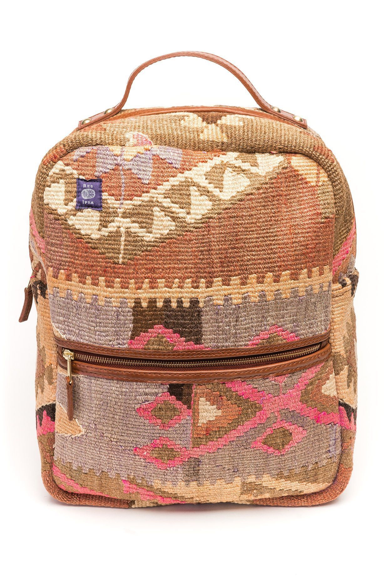 cdc9293b8b Kilim backpack  4
