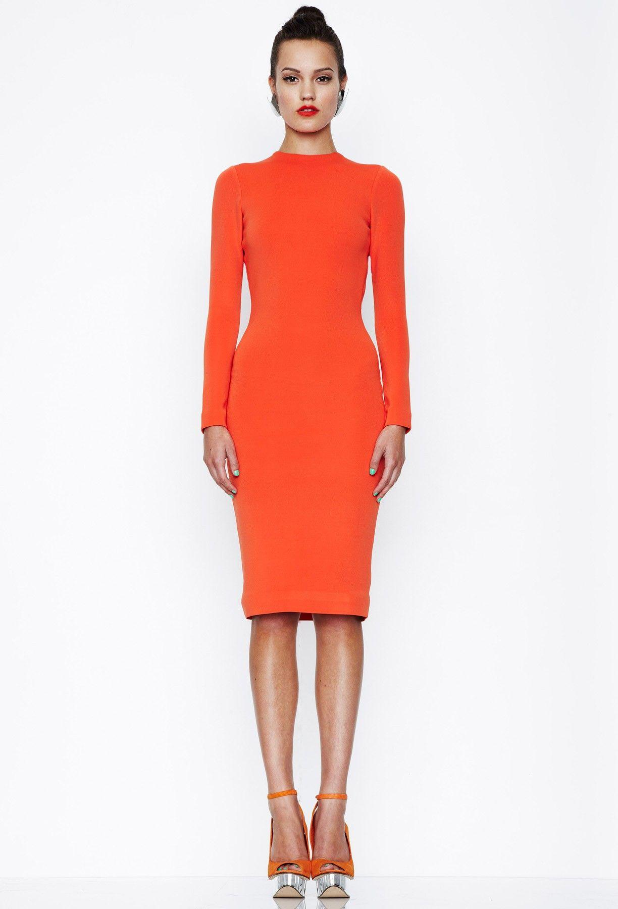 Celine Midi Dress The Color Shoes Dresses Fashion