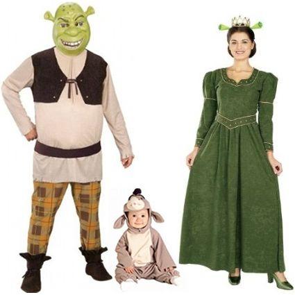 11 Halloween Costumes For New Parents Moominmamma Shrek Halloween Costume Family Halloween Costumes Diy Trio Halloween Costumes