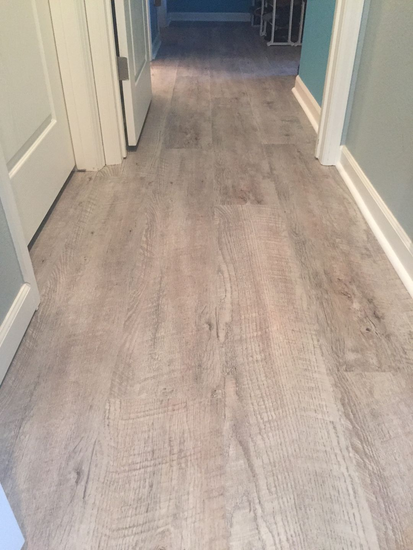Wood look Vinyl Plank installed by Custom Flooring Specialists in ...