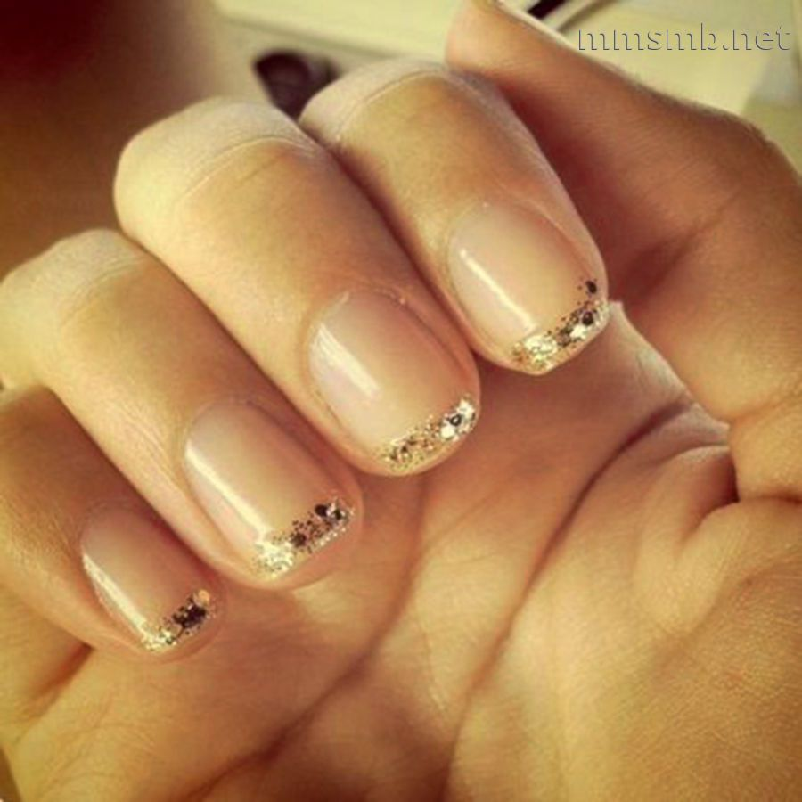 Black Reverse French Manicure For Desktop Backgrounds | Beauty ...