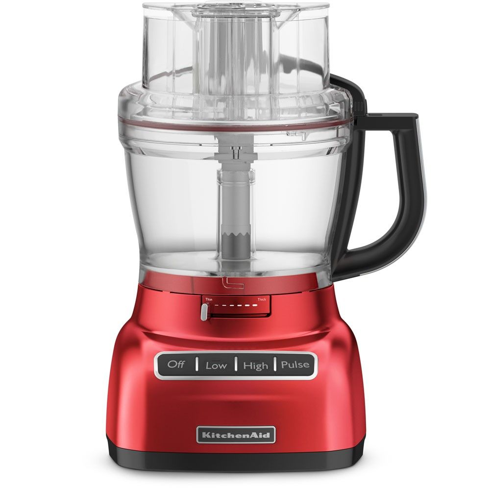 Kitchen aid 13 cup food processor with mini bowl