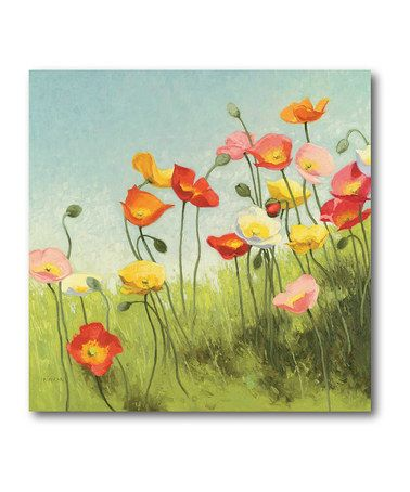Courtside Market Meadow Canvas   Canvas walls, Canvases and Walls