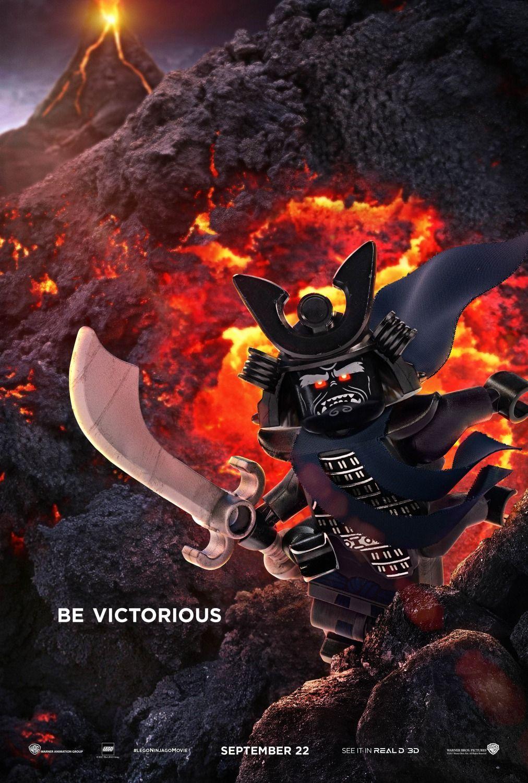 The Lego Ninjago Movie - new character posters -> https://teaser-trailer.com/movie/ninjago/   #TheLegoNinjagoMovie #Ninjago #MoviePoster
