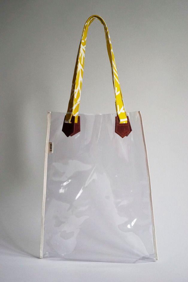 Tragetaschen - Transparente Tasche für die Bibliothek - ein ...