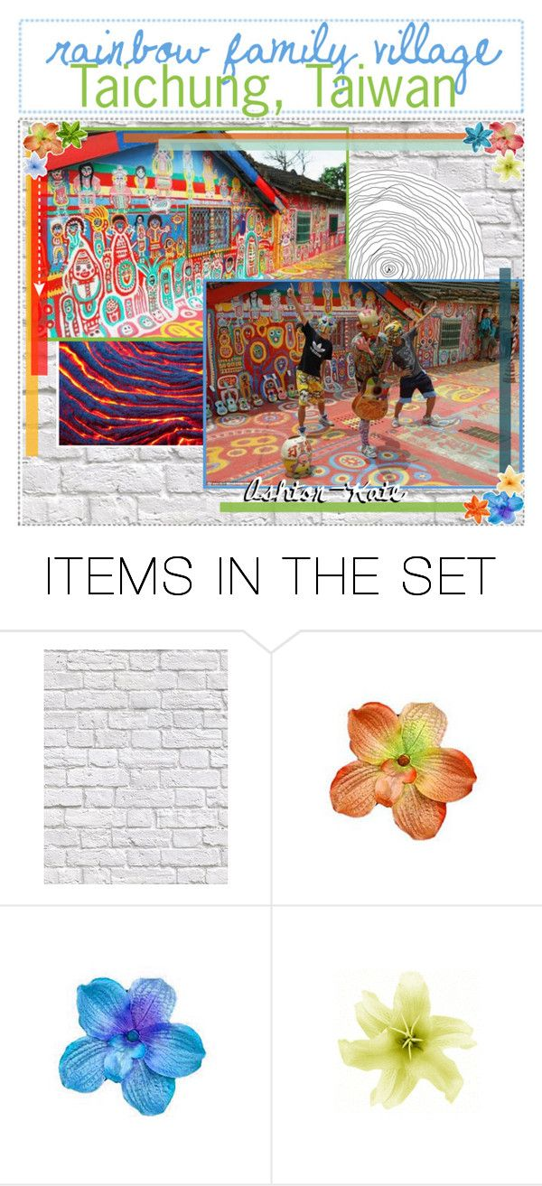 """Rainbow Family Village in Taichung, Taiwan // Ashton-Kate // 2-3-17"" by ashton-kate ❤ liked on Polyvore featuring art and tipsbyashton"