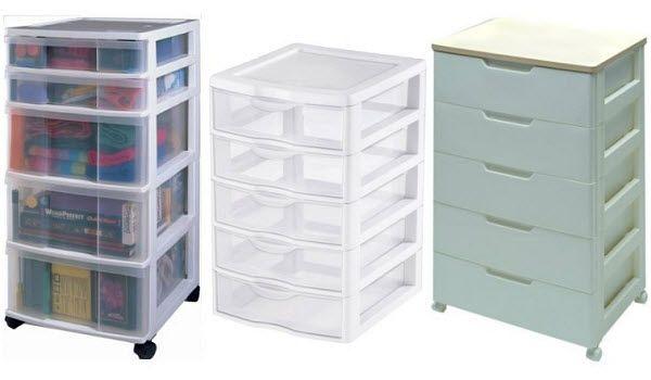 5 Drawer Plastic Storage Unit Cabinet Whereibuyit Com Plastic Storage Units Plastic Storage Plastic Cabinets